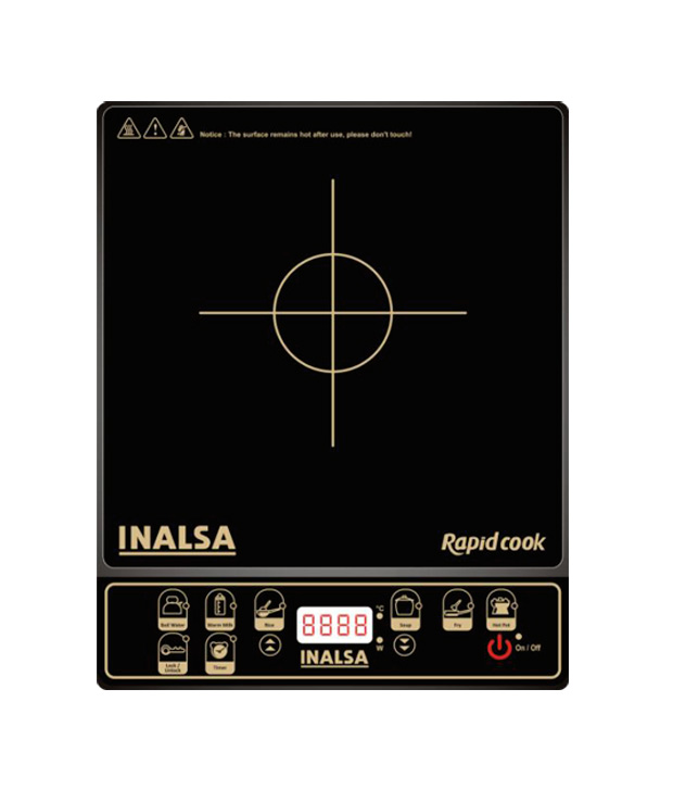 Inalsa Rapid Cook Induction Cooktop