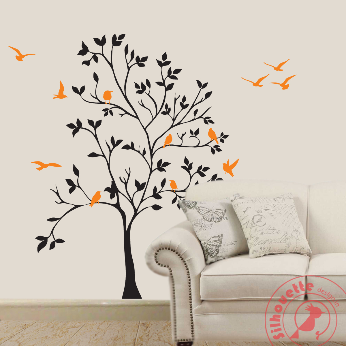 tree of life silhouette design wall decal buy removable wall stickers online tree silhouette quote