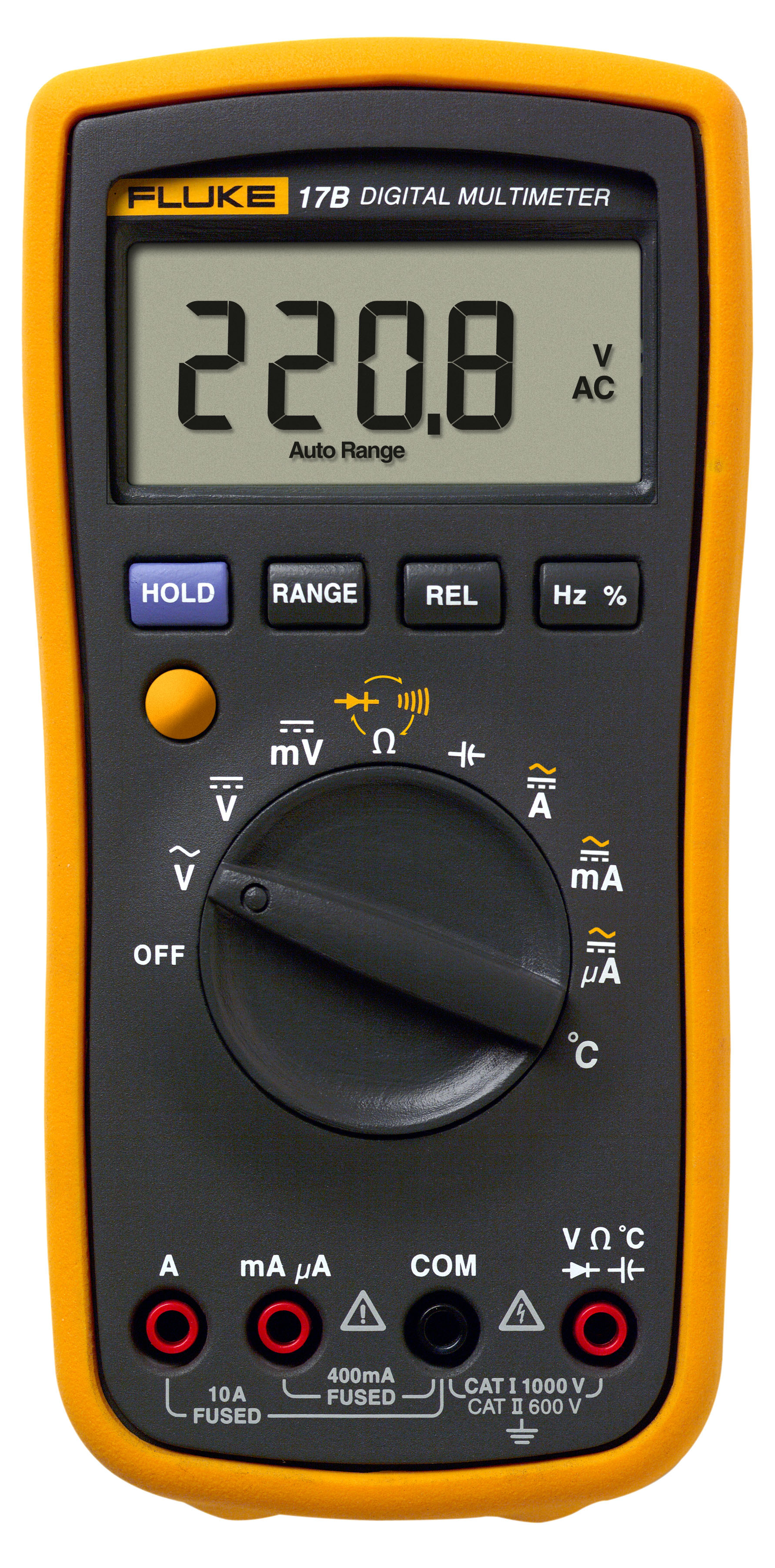 Fluke Digital Voltmeter : Fluke b digital multimeter