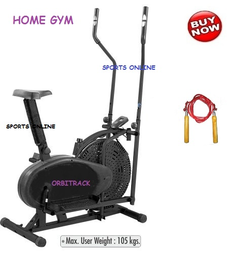 Imported orbitrack orbitrek bike exercise cycle home gym