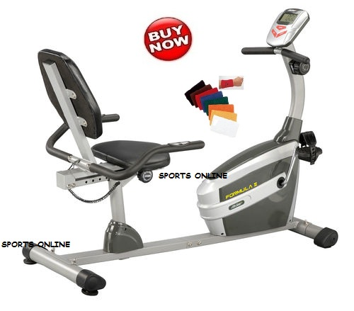 Imported lifeline exercise magnetic recumbent bike cycle