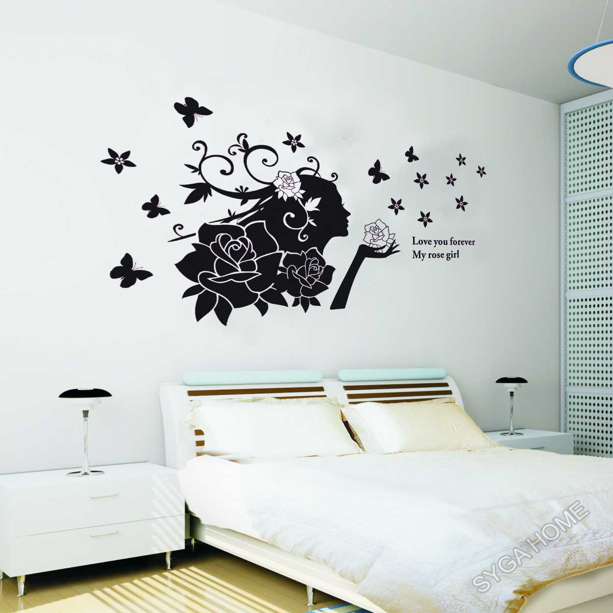 wall stickers 858black prices in india shopclues online zy cute animal world map wall sticker online shopping