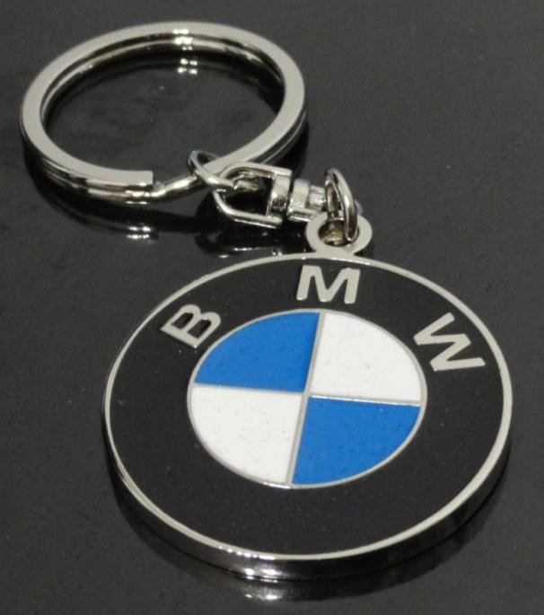Bmw Key Chain Metallic Keychain Car Bike Key Ring Keyring