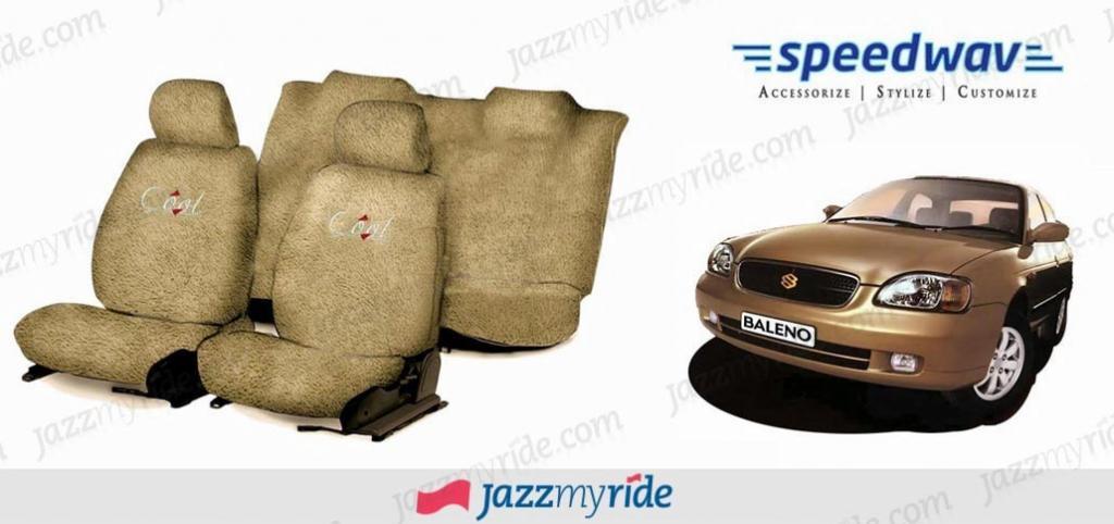 Speedwav Cool Beige Towel Seat Cover Maruti Baleno