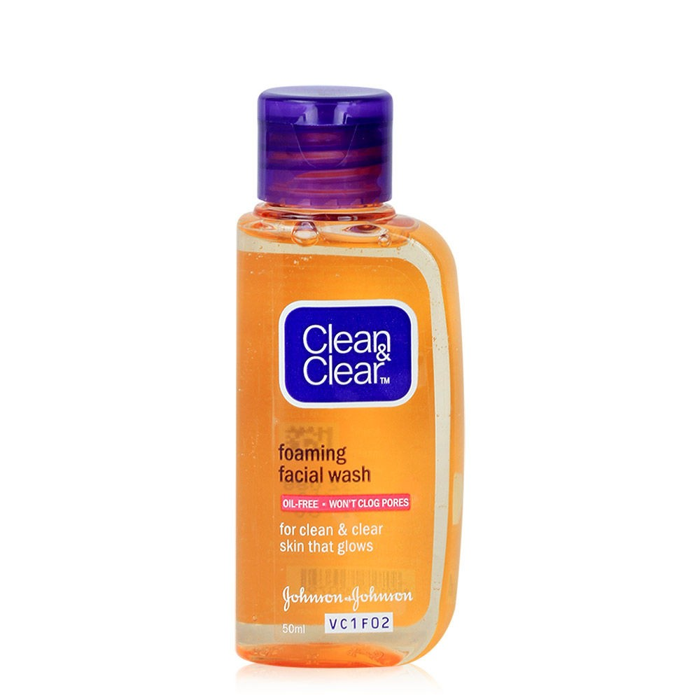Buy Clean Amp Clear Face Wash 50ml Online Shopclues Com