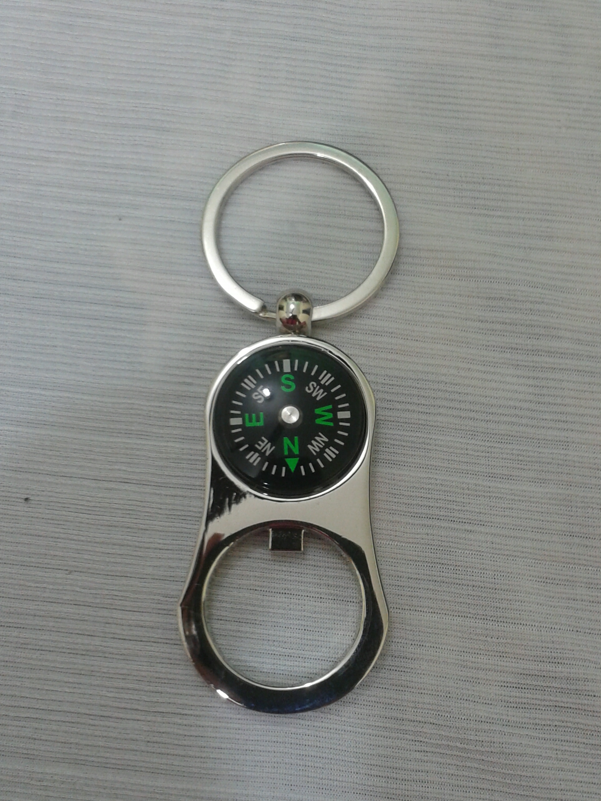 compass with bottle opener key chains for bike and home keychains. Black Bedroom Furniture Sets. Home Design Ideas