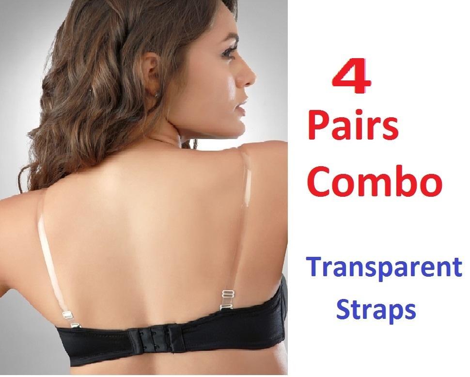 Transparent Bra Straps With Metal Hooks Transparent Bra Straps
