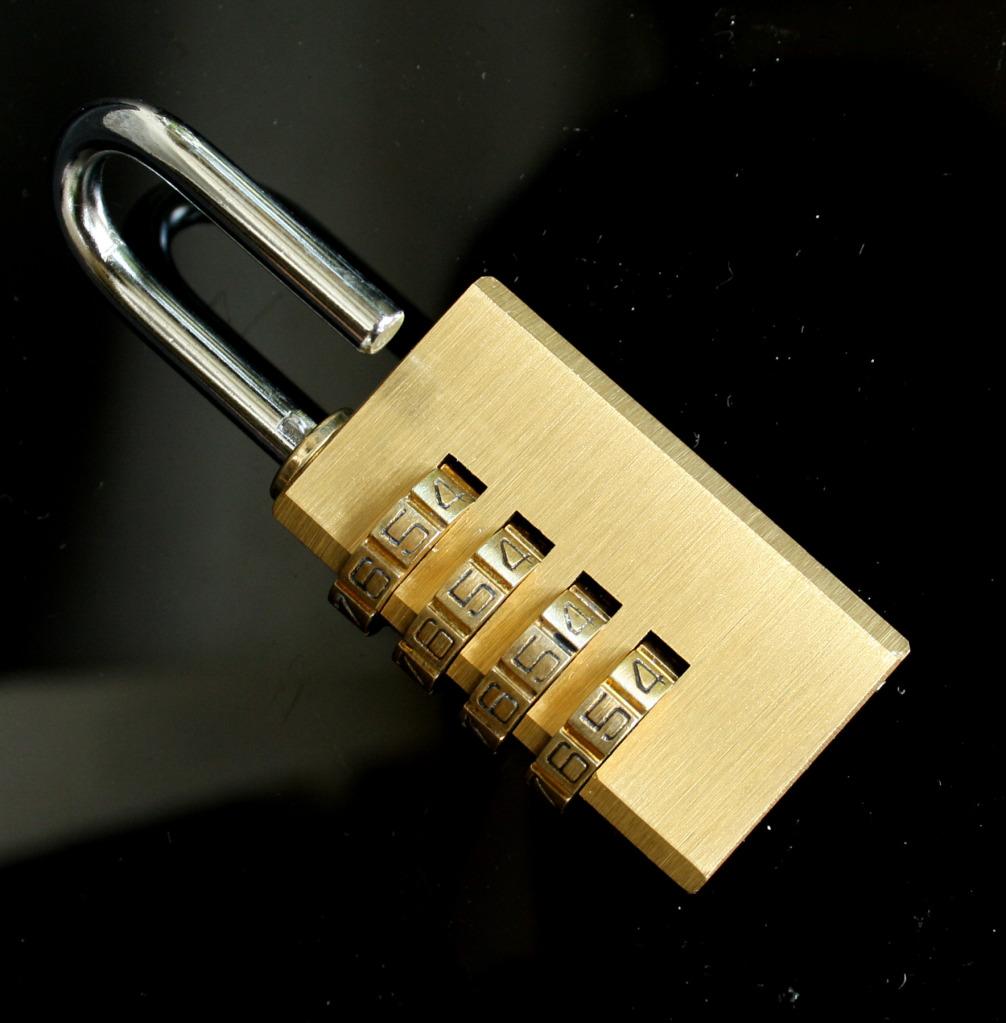 how to change samsonite 4-digit lock combination