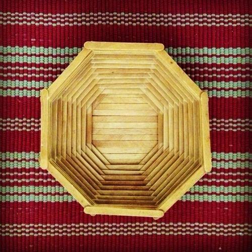 Ice Cream Stick Basket In India