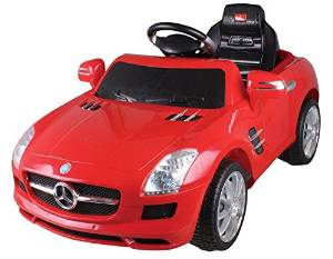 Mercedes benz lic sls amg ride on remote control power for Kids mercedes benz power wheel