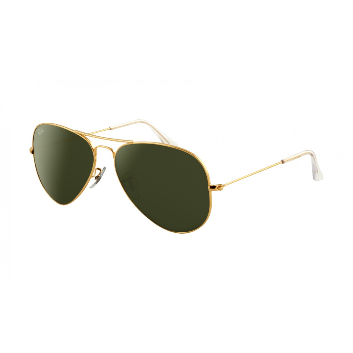 Oversized Gold Frame Sunglasses : Stylo Golden Frame Aviators Sunglasses (Golden Green)