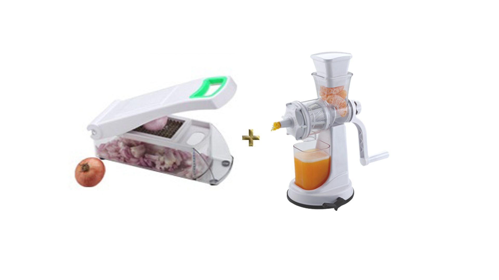 Onion And Vegetable Chopper, Cutter And Fruit Juicer Combo Offer [CLONE]