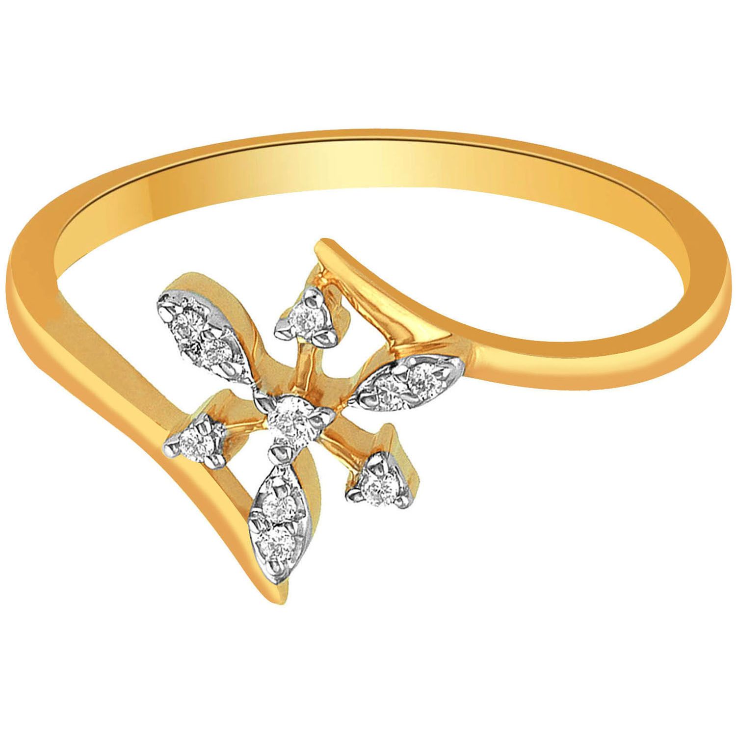 Asmi Diamond Rings Asmi Diamond Jewellery Ring