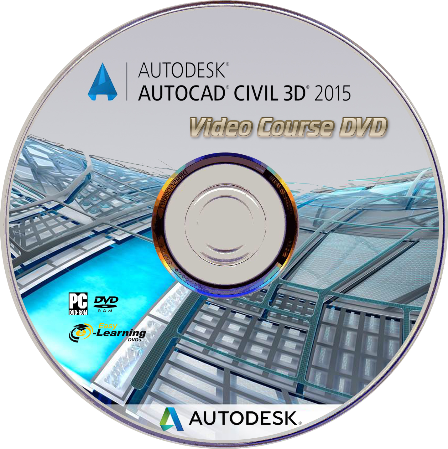 learn autocad civil 3d 2015 video training tutorial dvd. Black Bedroom Furniture Sets. Home Design Ideas