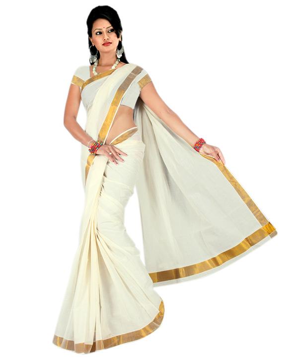 Aashini Kerala Cotton Saree
