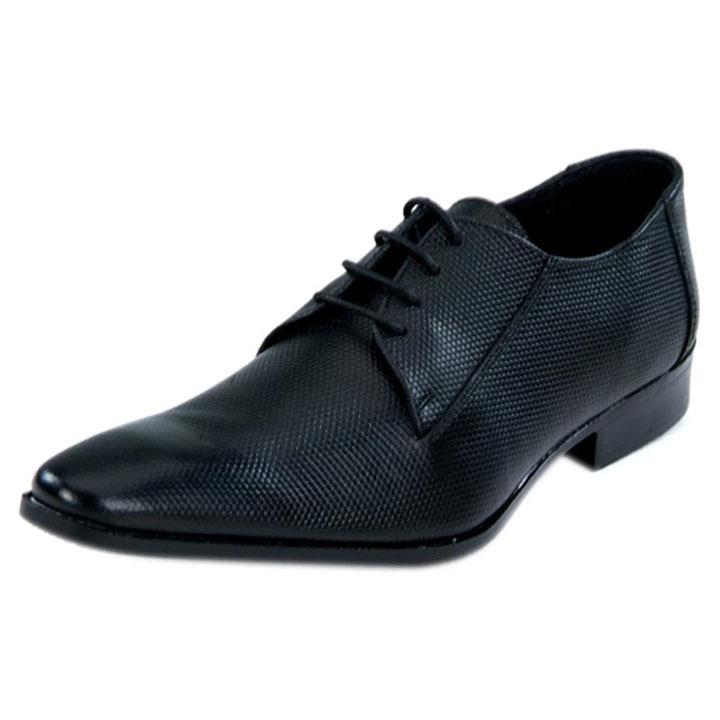Franco Leone 9420 Black Men's Formal Shoes