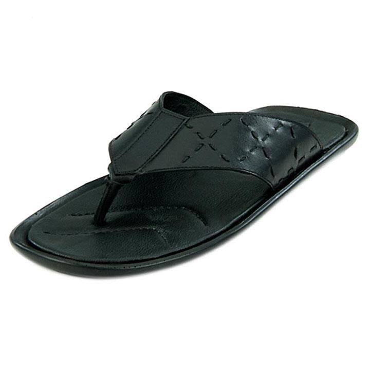 Franco Leone 9414 Black Men's Sandals