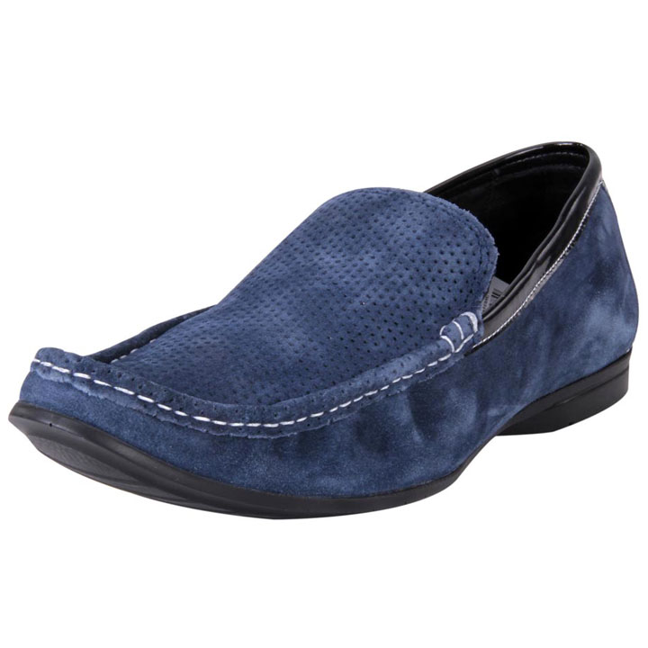 Franco Leone 9423 Blue Men's Casual Shoes