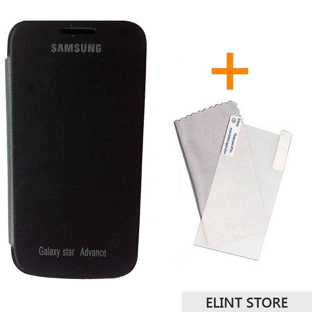 Samsung Galaxy Star Advance G350E Premium Leather Flip ...