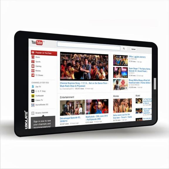 Datawind Ubislate 7CZ Smartphone Tablet(Manufacturer of Aakash Tablet)