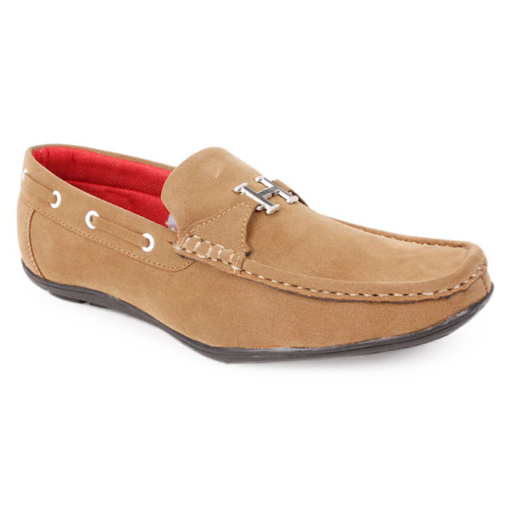 Bacca Bucci Cool Beige Loafers