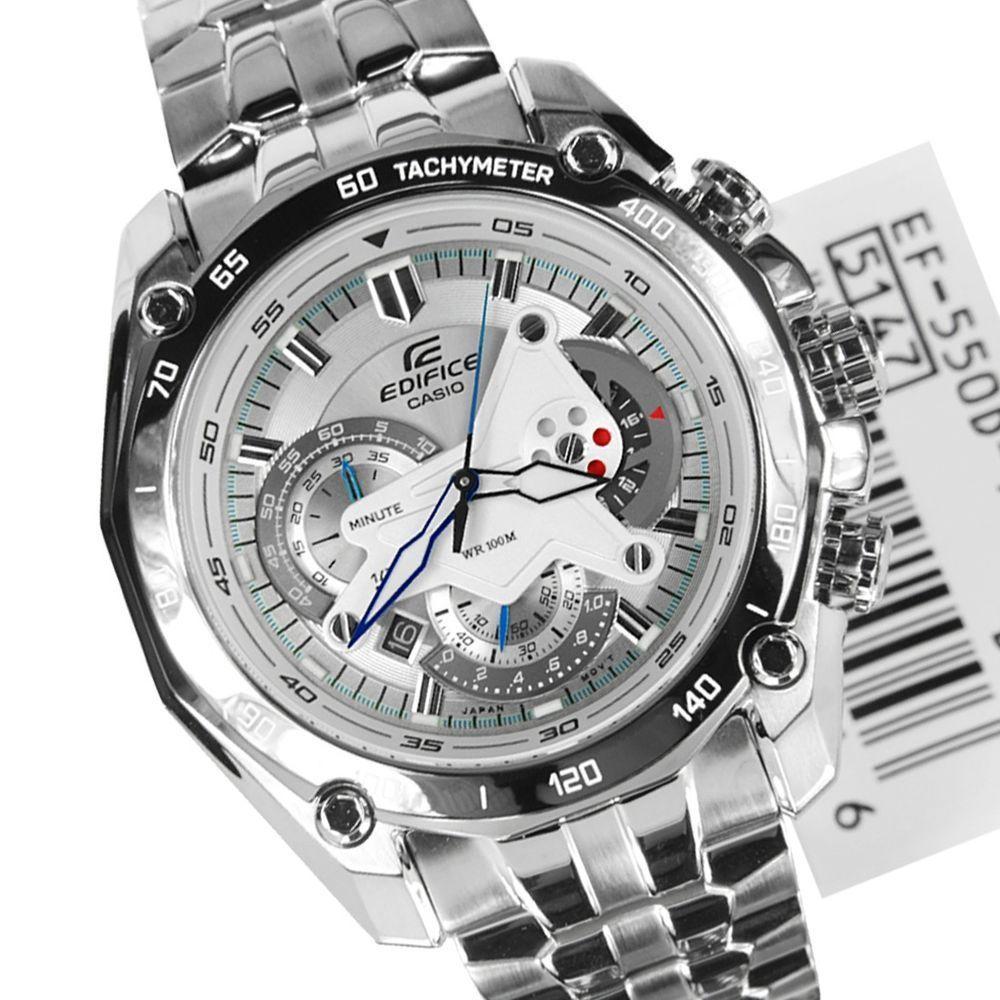casio edifice watch ef 550d 7av chronograph for men best deals with rh cheapestinindia com Casio Edifice EQS-500 Manual Harga Jam Tangan Casio Edifice