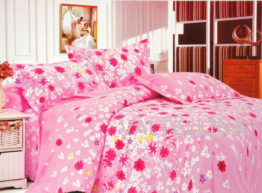buy valtellina gorgeous small flowesr print double bed. Black Bedroom Furniture Sets. Home Design Ideas