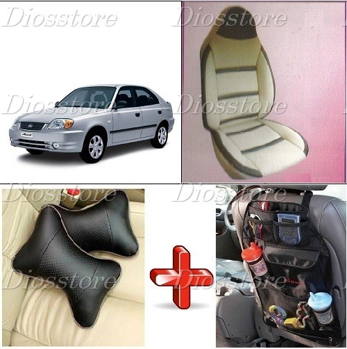 car seat cover for hyundai accent i 116 online at best prices in india from. Black Bedroom Furniture Sets. Home Design Ideas