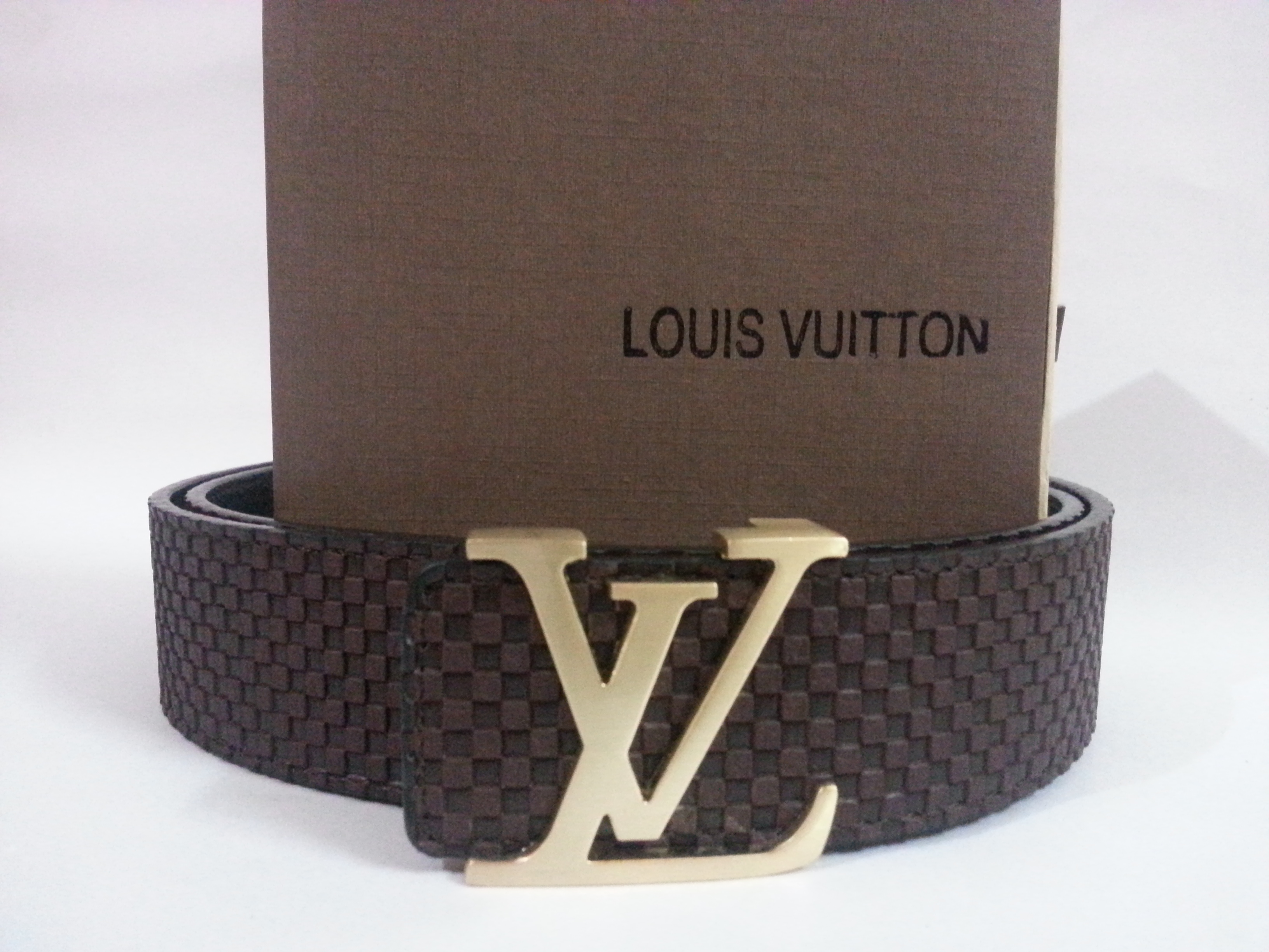 Louis Vuitton Belt Brown Latest Men Free Gift at Best ...