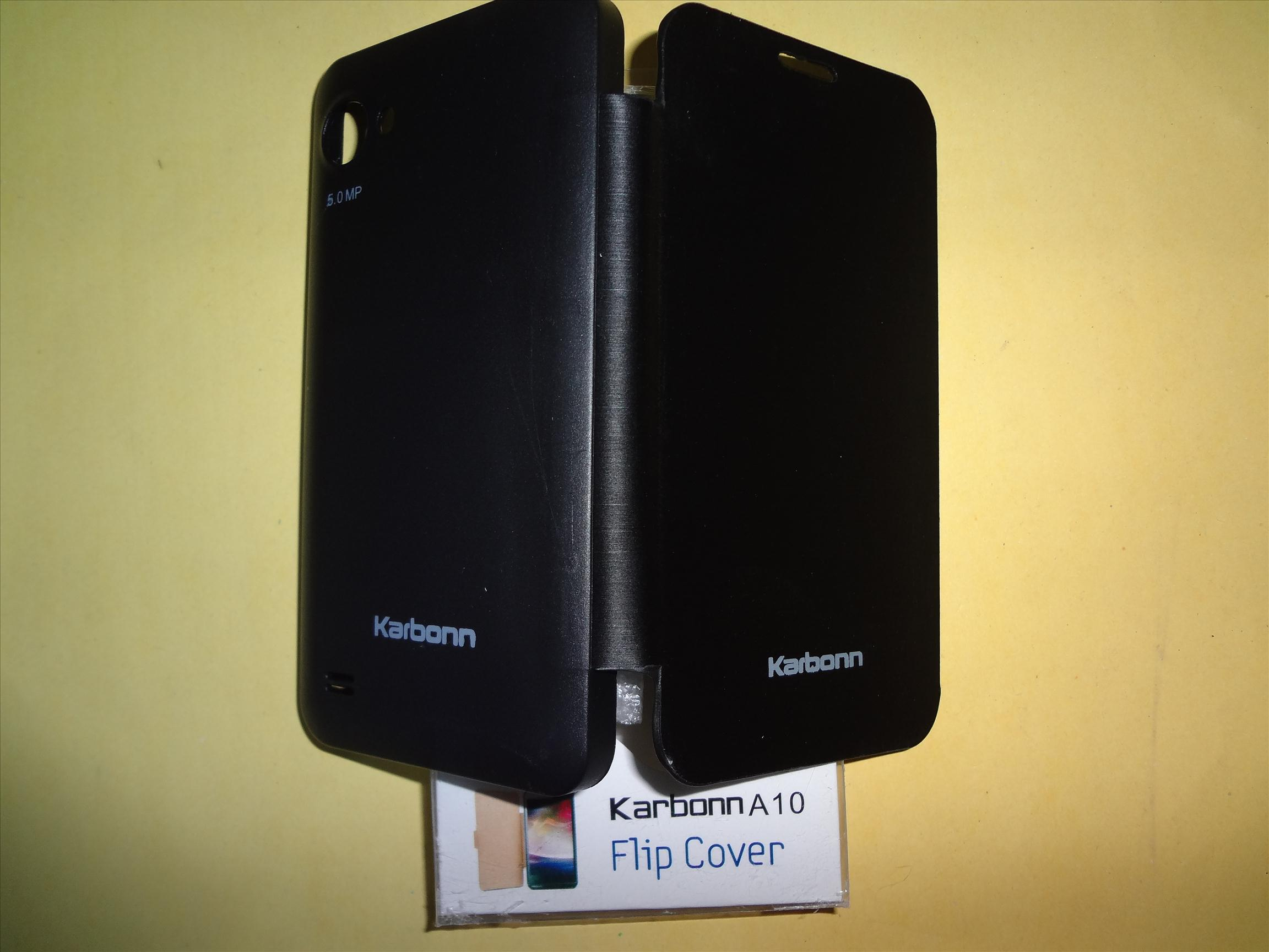 Karbonn A10 Flip Cover - Black at Best Prices - Shopclues ...