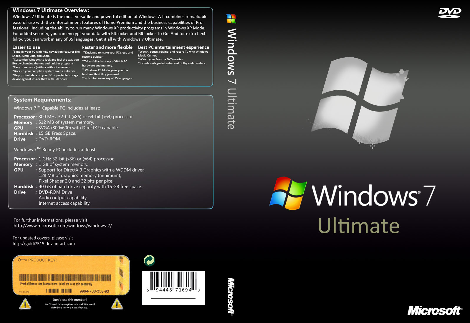 Windows 7 ultimate 64 genuine patch