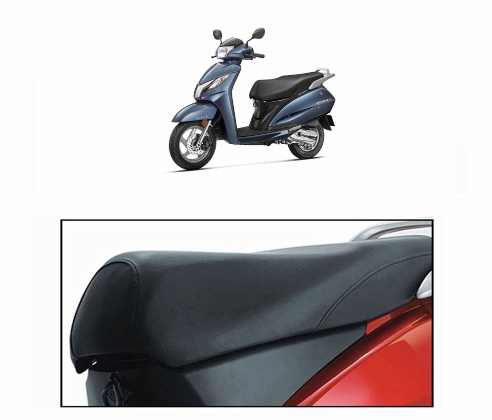 Relax Seat Cover For HONDA ACTIVA 125 Scooty Black Prices