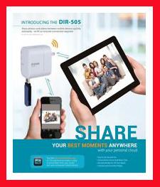 D-LINK(dlink) DIR-505 WIFI ROUTER RANGE EXTENDER+HOTSPOT+REPEATER+USB+mobile charger