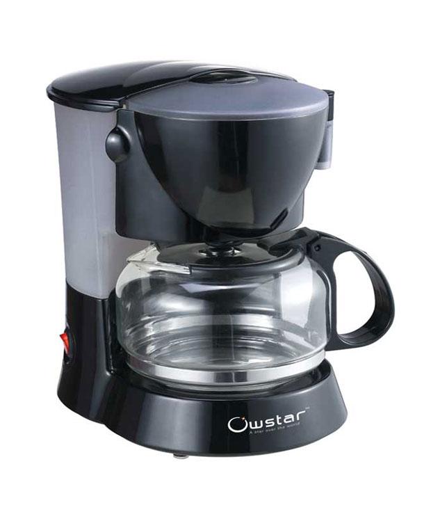 Ovastar Coffee Maker Reviews : Shop Ovastar OWCM-906 Coffee Maker Online - Shopclues