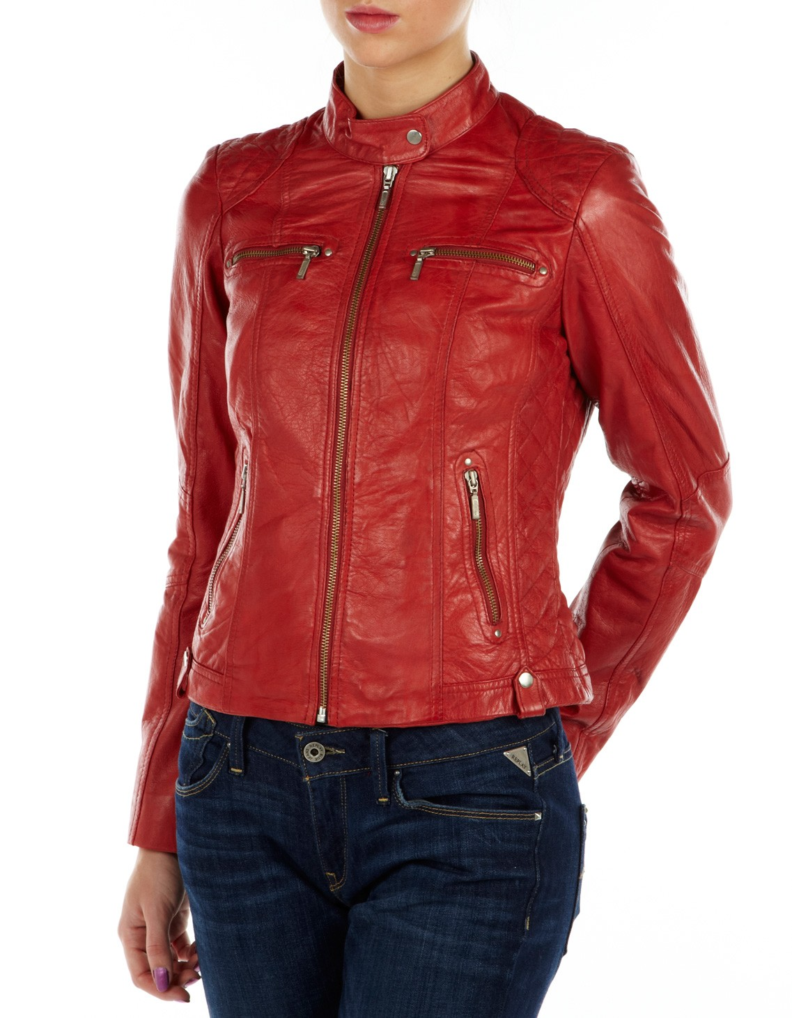 Womens Red Jacket Jacket To