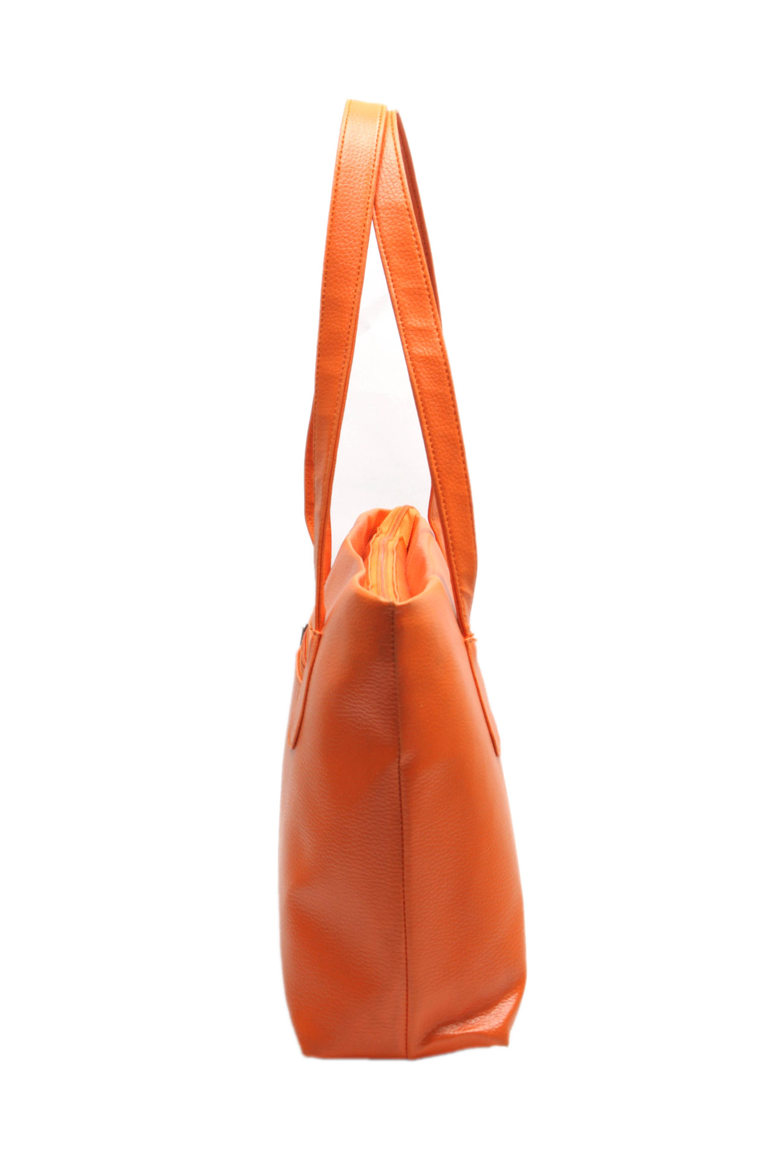 Fidato Women's Orange Handbag