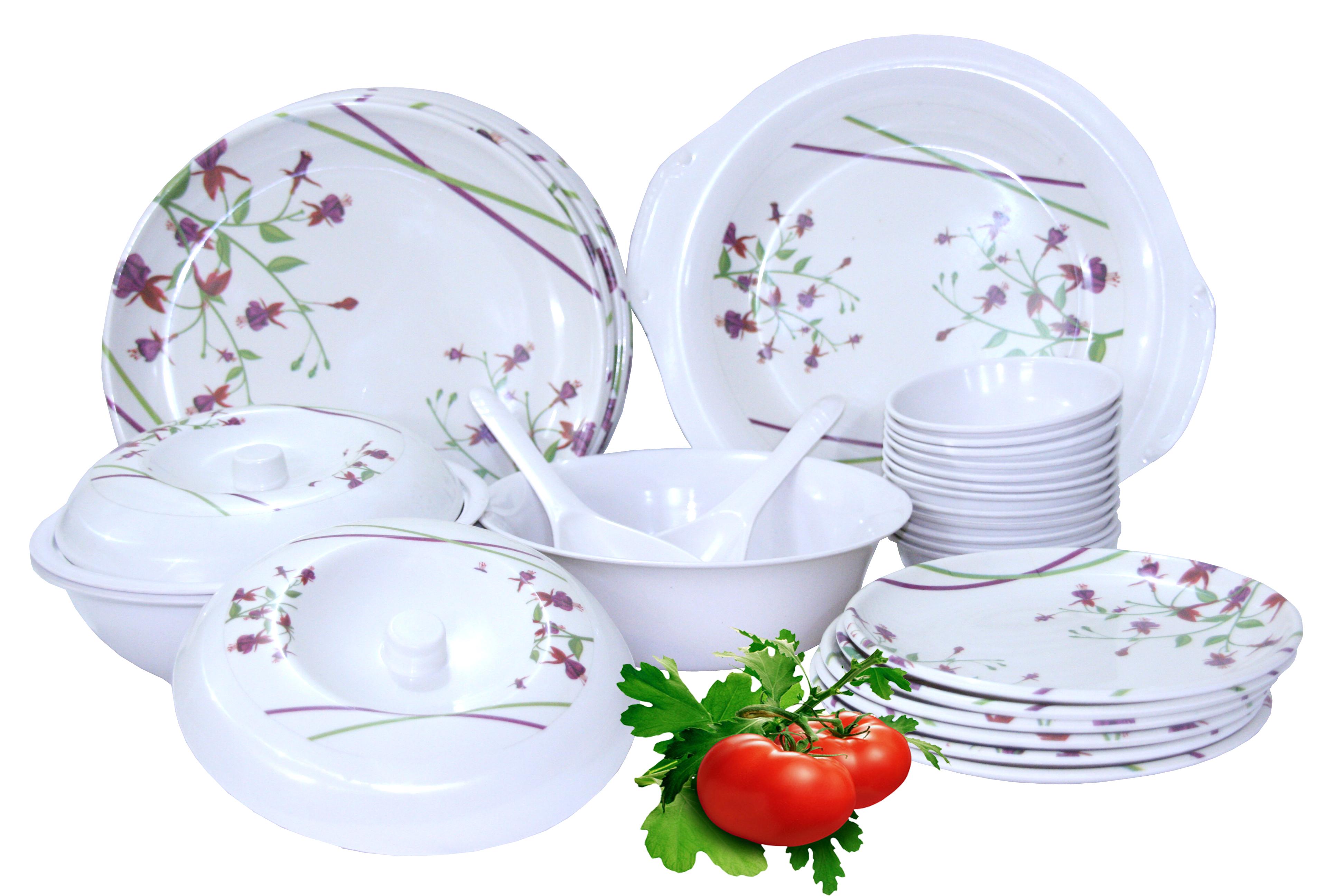 melamine tableware 32 pcs of dinner set