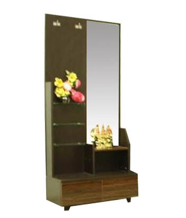 Nilkamal longston dressing table wenge prices in india shopclues online shopping store - Dressing wenge ...