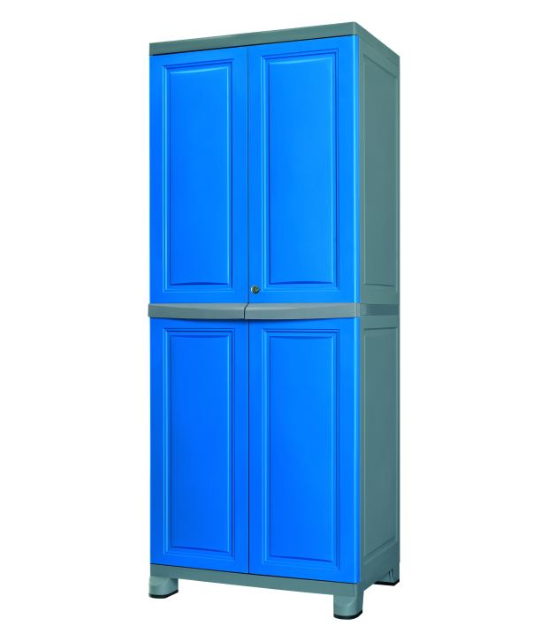 Online Nilkamal Freedom Cabinet Fb1 Dbl Gry Prices Shopclues India
