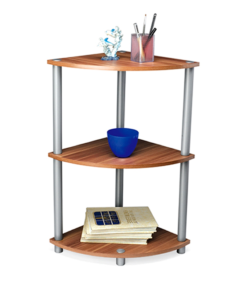 Nilkamal Iowa Wooden Corner Rack Iiowaconracwen In India Shopclues Online