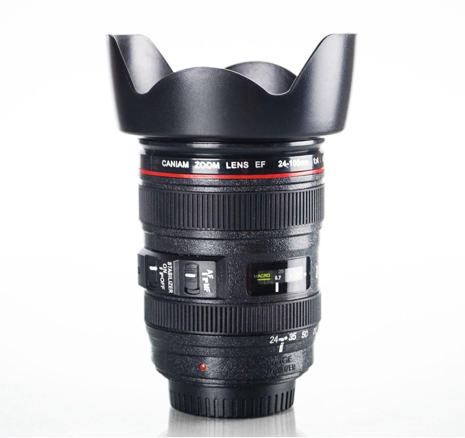 Birthday Cortporate Anniversary Gift Canon Camera Lens Mug