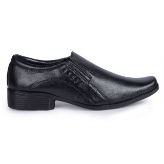 Banjoy black formal shoes PIBKMF021
