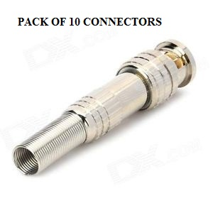 BNC CONNECTORS - PACK OF 10