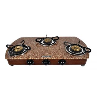Stove Top Burner 3 Burner Cooktop Gas Stove