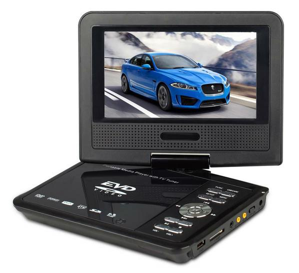 Portable Led Screens : D portable dvd player with inch led screen hd sd