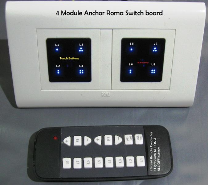 Light fan Remote control system