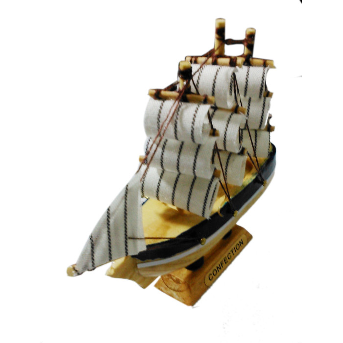 Wooden home decor ship for Ship decor home