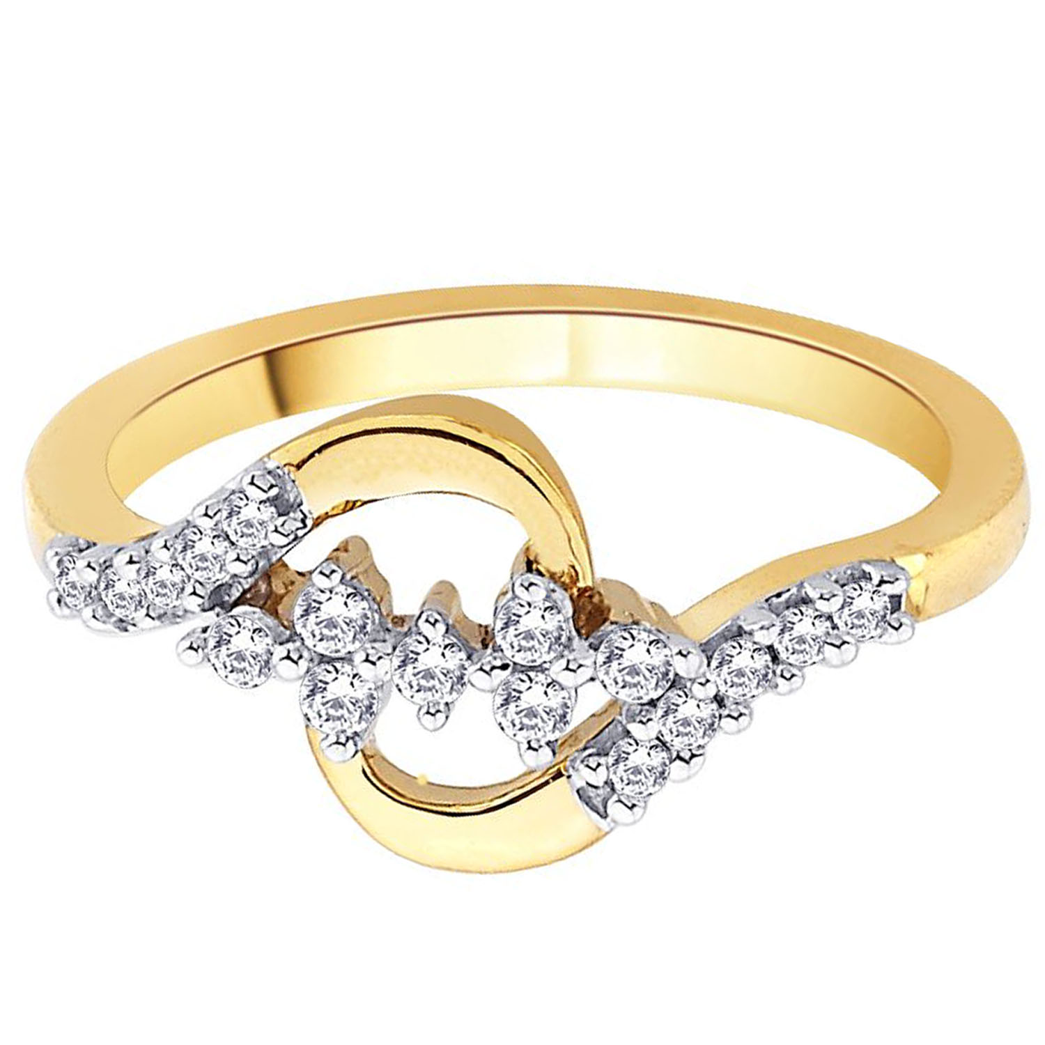 Asmi Diamond Rings Asmi 18kt Gold Amp Diamond Ring