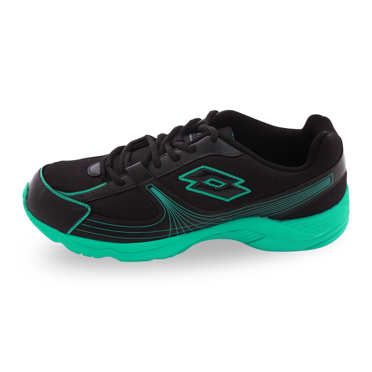 lotto black green casual running shoes buy from