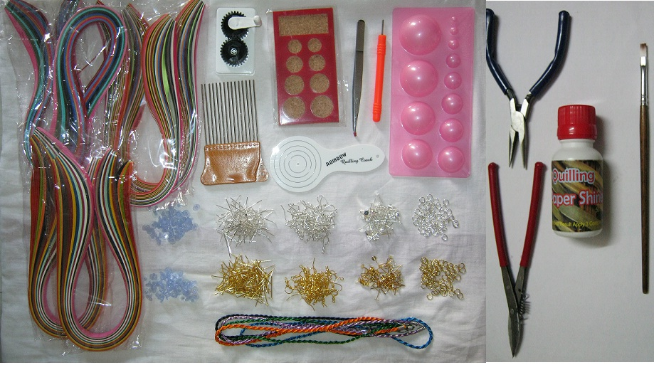 33 pcs quilling kit advanced for all ages all in one for Quilling kitchen set